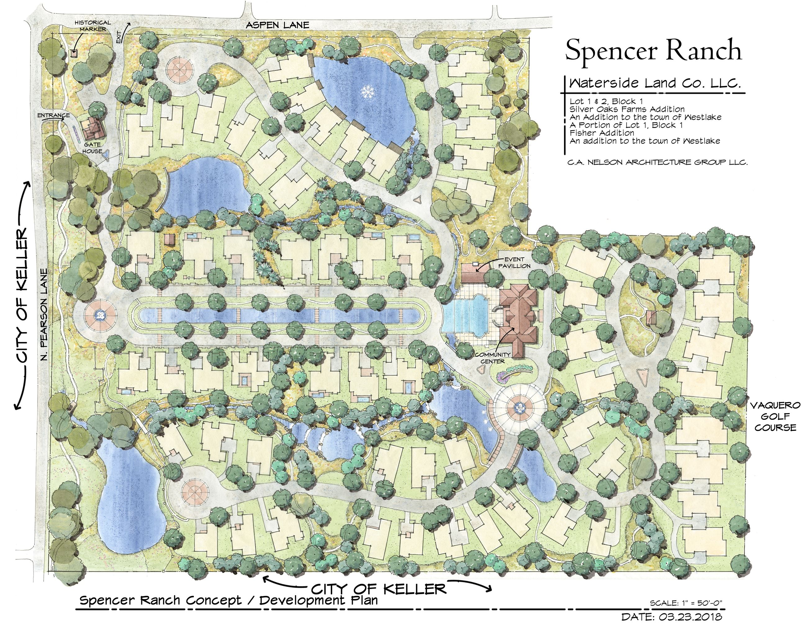 Spencer Ranch Concept/Development Plan