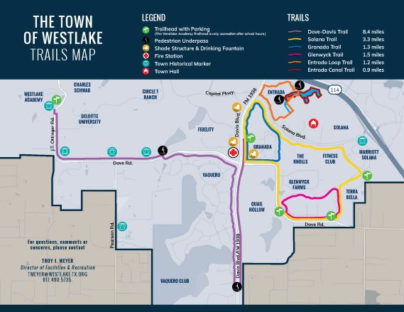 2019 Westlake Trail Map Backx